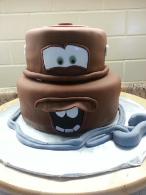 ... Recipes, Tow Mater Cake, Mater Cakes, Eating Cakes, Cars Cakes