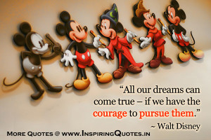 ... Disney Quotes | Famous Walt Disney Quotations | Walt Disney Sayings