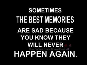 Never again..