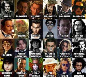 Memorable Johnny Depp Characters