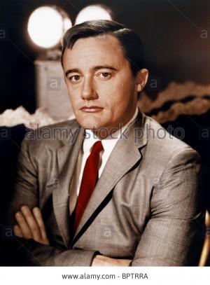 Stock Photo ROBERT VAUGHN ACTOR 1965