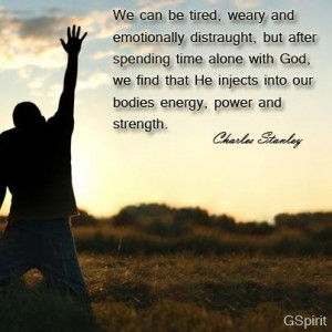 Words of encouragement from Dr. Charles Stanley