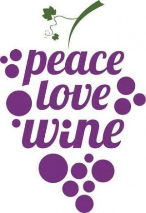 Peace, love, wine!