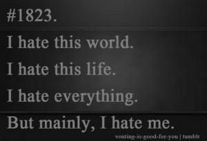 Depression i hate