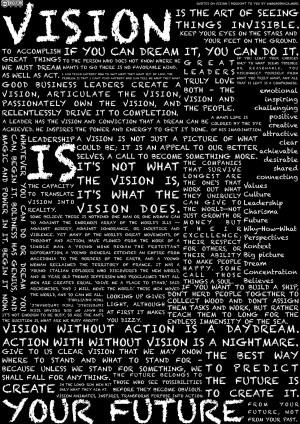 Vision-Quotes… diesmal aber ohne Helmut Schmidt