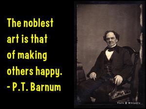 11 P.T. Barnum Quotes to Inspire #StartUps & Entrepreneurs