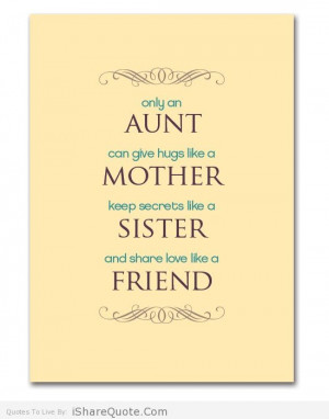 Quotes About Aunts and Families