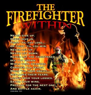 firefighter prayer
