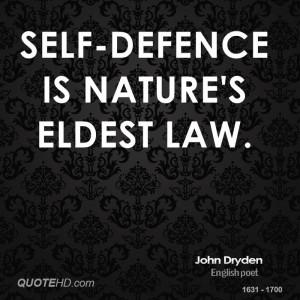 John Dryden Nature Quotes