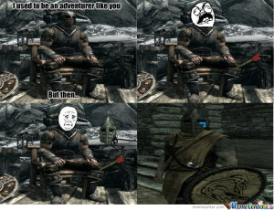 Skyrim Guards are Made, Not Born