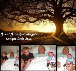 Great grandpa quote