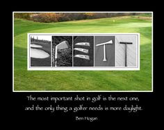 ... Ben Hogan and is printed to 11x14 inches ready to frame. #golf #golfer