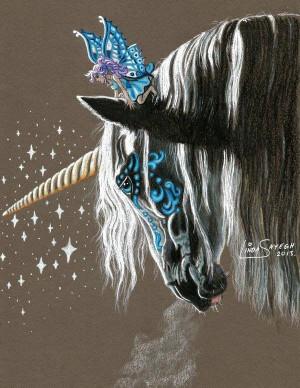 Unicorn And Fairy Fantasy