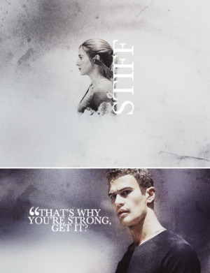 Divergent. Quote from Free Four