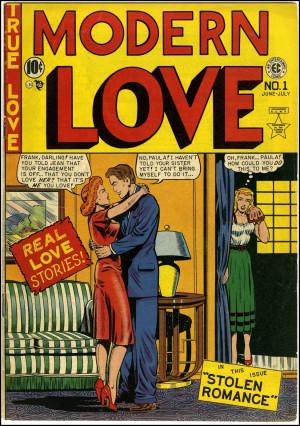 Modern Love #1, June 1949. Cover art by Al Feldstein.