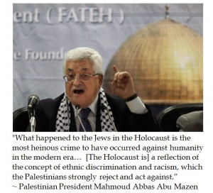 Mahmoud Abbas on the Holocaust