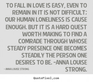 Your Love Is Strong Enough Quotes