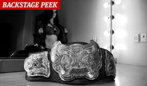 Paige WWE Backstage