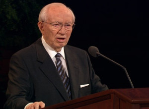 """... we are thinking only of ourselves."""" President Gordon B. Hinckley"""