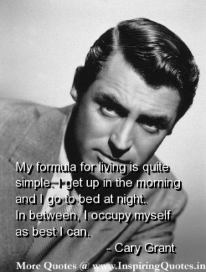 Cary Grant Quotes, Sayings and Thought – Cary Grant Quotations