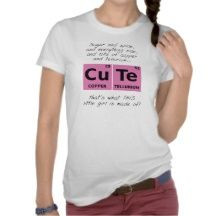 CuTe Girls Funny T-shirt