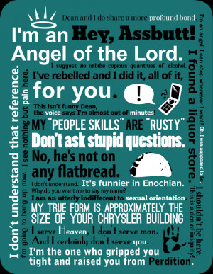 supernatural quotes on Tumblr