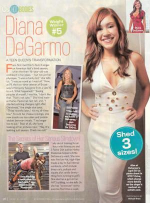 Diana DeGarmo's DreamTeam Forum: Us Weekly - Diana DeGarmo's DreamTeam ...