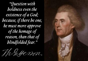 chronological order determine founding fathers changed beliefs older ...