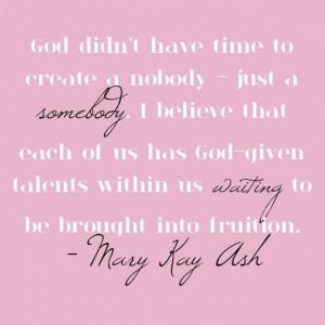 Mary Kay Quotes