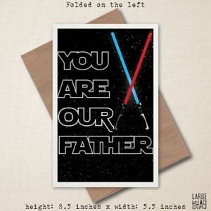 The very best Star Wars Father's Day cards