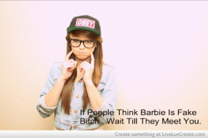 barbie girl, cute, inspirational, love, pretty, quote, quotes