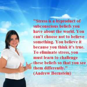 ... you improve your understanding of the internal causes of your stress
