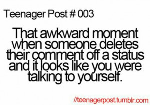... quotes, someone, status, talk, teenagers post, that awkward moment