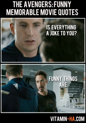 THE AVENGERS (2012): Funny and Memorable Quotes