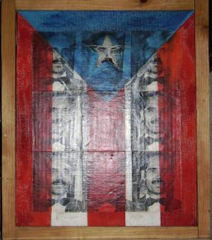 La Bandera de Don Pedro Albizu Campos 1993 by Pedro Martin de Clet ...