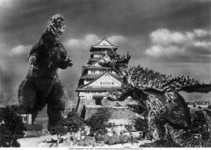 Oh, it's on…coming at you Anguirus!