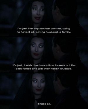 Families Quotes, Fav Movie, Funny Things, Addams Family Values Quotes ...