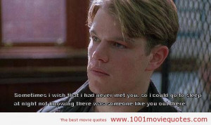 Good Will Hunting (1997) quote