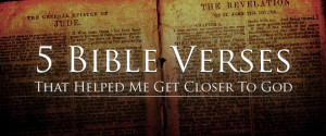 Bible Verses That Helped...