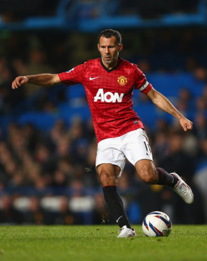 ... round in this photo ryan giggs ryan giggs of manchester united in