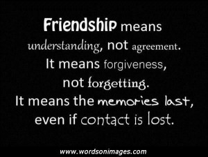 True meaning of friendship quotes