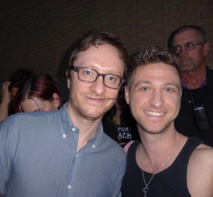 Akiva Schaffer of The Lonely Island and Geoffrey Dicker