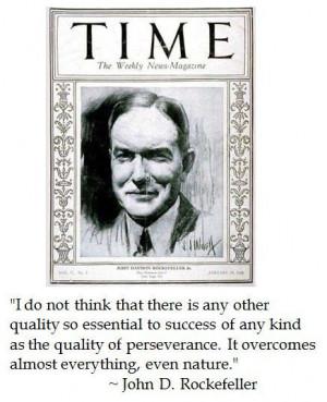 John d rockefeller, quotes, sayings, success, nature