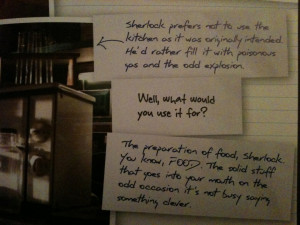 Sherlock Holmes Quotes HD Wallpaper 7