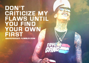 quotes, sayings, wiz khalifa, celebrity, flaws | Inspirational ...