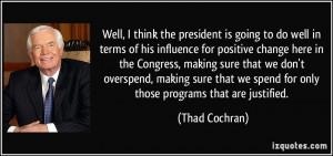 More Thad Cochran Quotes