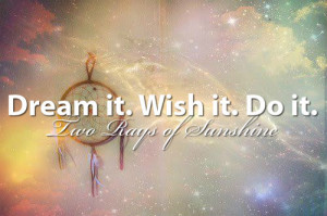 do, dream, hope, quote, quotes, sky, stars, text, tumblr, two rays of ...