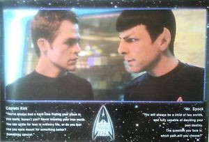 STAR-TREK-Kirk-Spock-Quotes-Licensed-MOVIE-POSTER-90cm-x-60cm-Brand ...