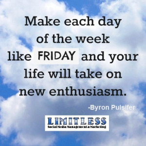 Friday quote