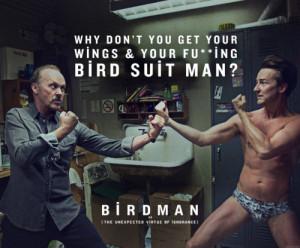 ... Michael Keaton Edward Norton Alejandro Gonzalez Inarritu film quote